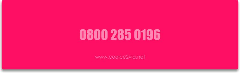 Telefone da Coelce 0800